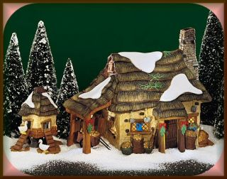 McShane Cottage New Department Dept 56 Dickens Village D56 DV