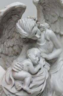 Angel Baby Memorial Statue Pregnancy Childloss Figurine