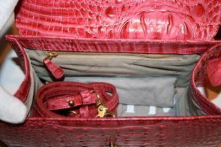 Rose Summer Berry Lady Melbourne Pink Satchel H73357EY $245