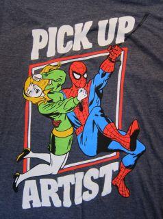 Mens T Shirt Spiderman Marvel Comics s M L XL Adult Tee Shirt Super