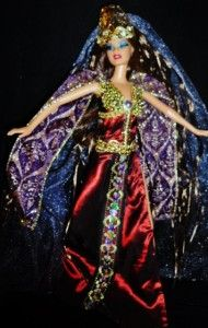 Greek Goddess Medea Sorceress Golden Fleece OOAK Barbie Doll Beauty