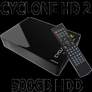 Cyclone HD2 Full 1080p Media Player Recorder 500GB HDD