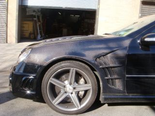 03 04 05 06 07 08 09 Mercedes Benz CLK Class C55 AMG Wi Style Fenders