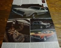 1968 Mercury Car Brochure Montego Cyclone Cougar