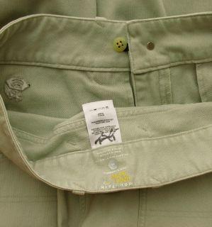 Mountain Hardwear Mens Merced Gene Jean Styled Pants Khaki Tan 34 3011