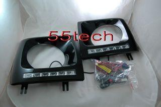 Mercedes G Class W463 Headlight Frame Day Time Running Lights LED