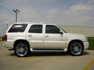 24 Inch Rims Boss 313 Chrome 24x10 6 Lug WITH Tires   Cadillac Chevy