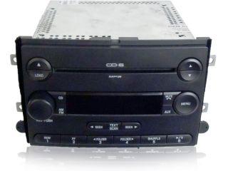07 Ford Fusion Mercury Milan Radio  6 Disc CD Changer Player 2007