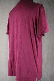 Pima Cotton Short Sleeve Polo Size XXXL $150 Magenta Pink Mel