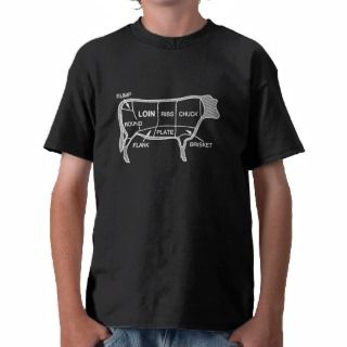 Beef Diagram T Shirts
