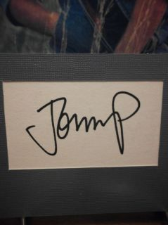 John Mellencamp Autograph 80s Rock Display Signed Signature COA