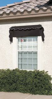Retractable DIY Awning Window Door Fabric Awnings