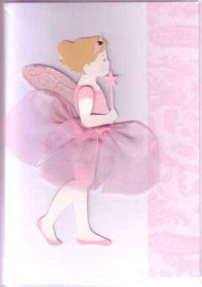 MERI MERI Fairy Birthday Cards Embellished Blue Pink Handmade 3D