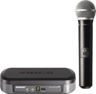 PG24 PG58 Performance Gear Wireless Hand Held Microphone System