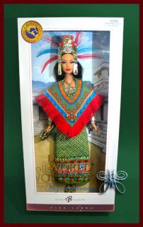 Princess of Ancient Mexico 2004 Barbie Doll