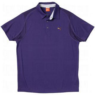 Puma Mens Golf Tech Polo Shirt Fowler Blue Ribbon Large New