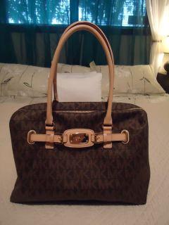 Michael Kors Brown Weekender Hamilton Bag $448