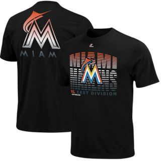 Majestic Miami Marlins Turn to Victory T Shirt Black