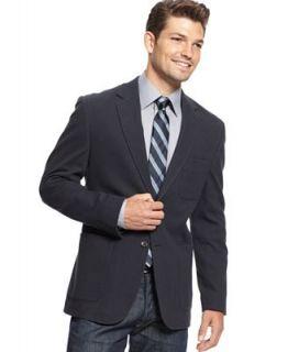 Tommy Hilfiger Jacket, Navy Knit Blazer Slim Fit