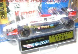 Michael Andretti 6 Texaco Indy Car Diecast 1 64 RARE