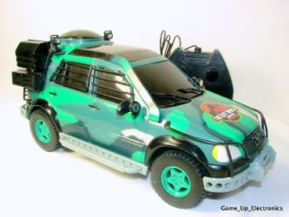 Jurassic Park Mercedes Benz Remote Control Car Toy Biz
