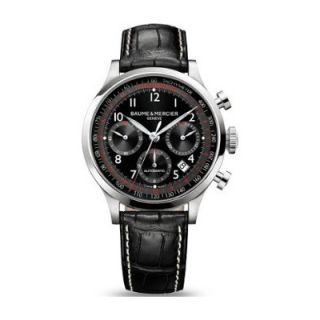 Baume Et Mercier Capeland Mens Stainless Steel Case Chronograph Watch