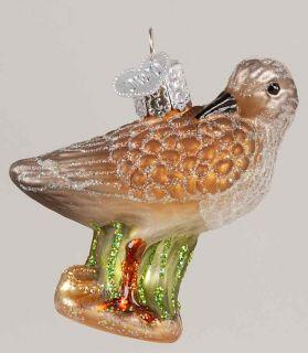Merck Familys Christmas Ornament Sandpiper 7133619
