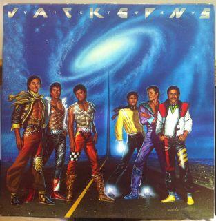 1984 The Jacksons Victory LP QE 38946 Michael w Fan Club Ins