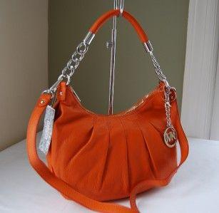 Michael Kors Erin Medium Shoulder Bag Tangerine