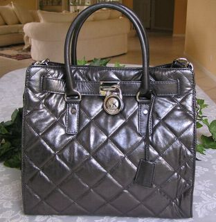 Michael Kors Hamilton Quilted Large N s Tote Purse