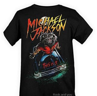 Michael Jackson Official This Is It Tour Merch T Shirt s XL