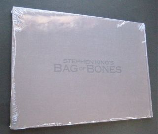 Bag of Bones Stephen King Promo A E Book New SEALED RARE Dark Score