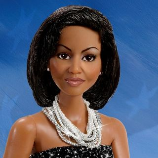 First Lady Michelle Obama Sophisticated Style Fashion Doll by Ashton