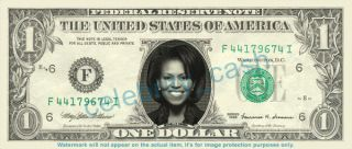 Michelle Obama Dollar Bill Mint First Lady