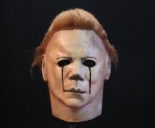Halloween 2 Movie Michael Myers Blood Tears Latex Collectors Mask