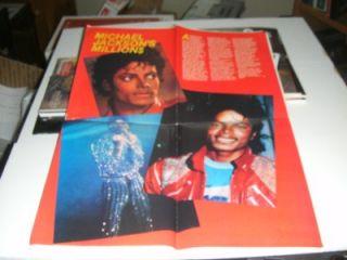 1984 vintage Rock Heroes Michael Jackson Duran Duran Romantics