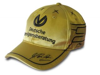 Michael Schumacher 20 Years F1 Official Spa 2011 Gold Cap Special
