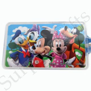 Disney Mickey Mouse and Friends Personalized Key Ring