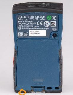 Bosch DLE 40 Laser Distance Measure 40M Range Metric