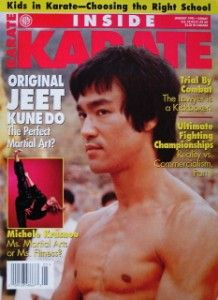 RARE 1 95 Inside Karate Bruce Lee Jeet Kune do Black Belt Kung Fu