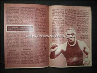 Raul Cruz Photocover Mexican Boxing Magazine 1972