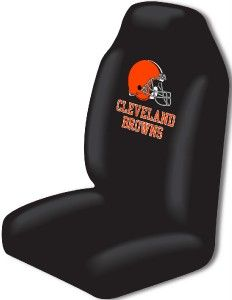 Cleveland Browns Car Seat Covers Floor Mats NFL Set