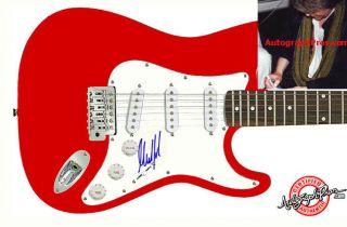 Rolling Stones Mick Taylor Signed Guitar & Proof PSA/DNA Cert UACC RD