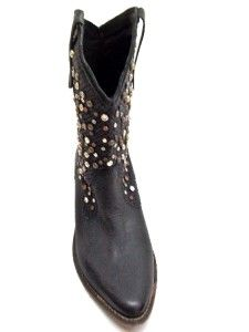 MIA Limited Edition Womens Moonshine Western Boot Black Size 9 M