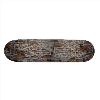 Ancient wall, Florence, Italy Skate Board Decks