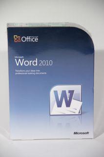 Microsoft Word 2010 Full Retail 059 07628