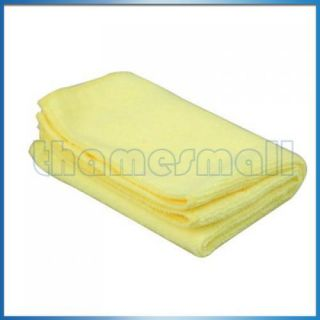 Microfiber Towel Cleaning Cloth Ultra Absorbant Yellow