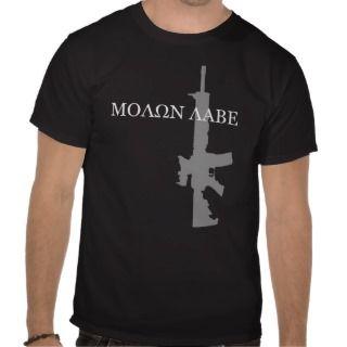 Colt M4A3   MOLON LABE Tshirts
