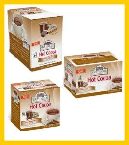 Grove Square Hot Cocoa Milk Chocolate K Cups for Keurig