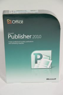 Microsoft Publisher 2010 Full Retail 164 06233